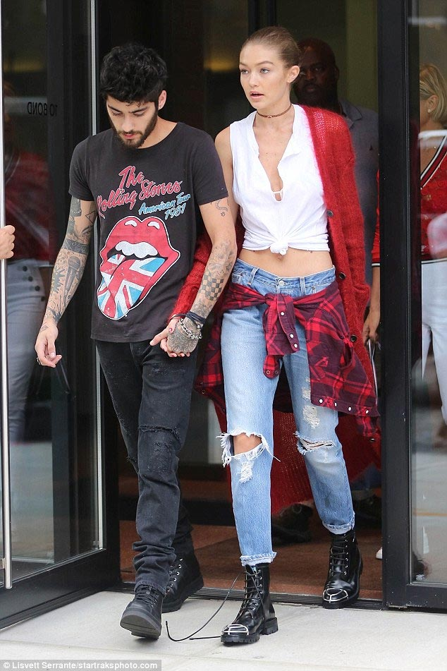 What breakup? Gigi Hadid and Zayn Malik step out together