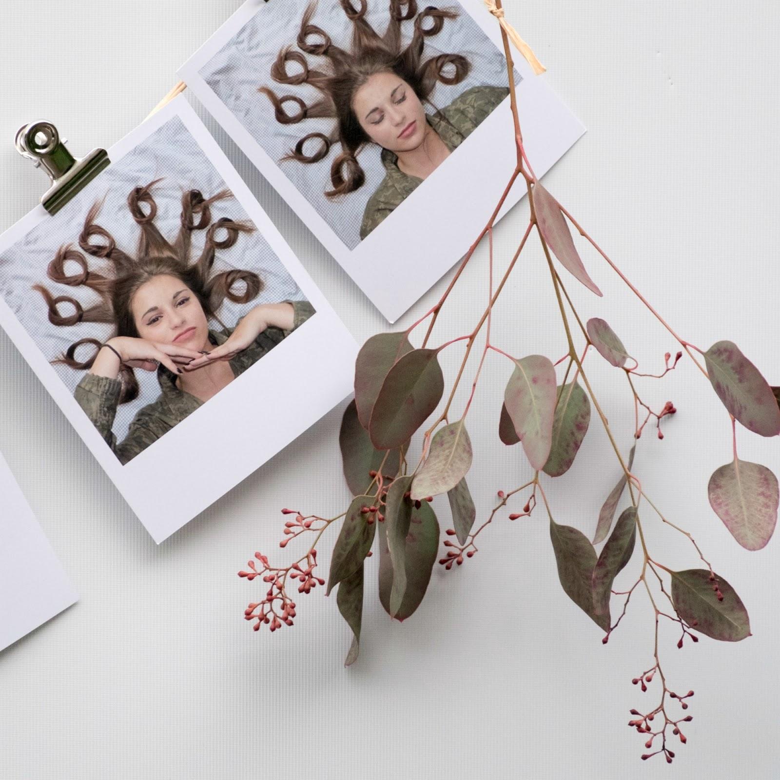 retroprints met Polaroid frame