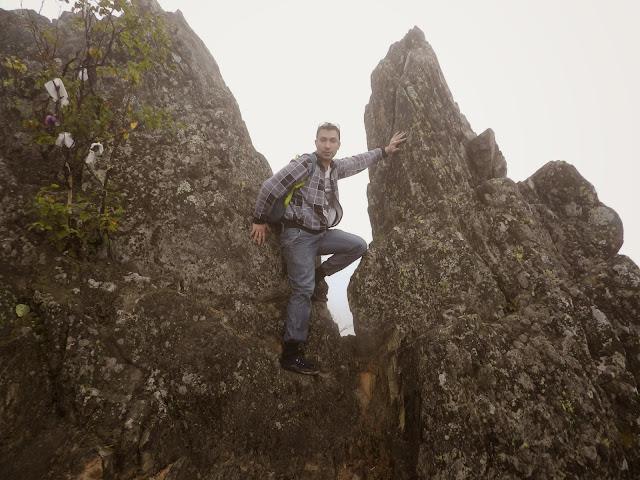 Вершина Двуглавой сопки в национальном парке Таганай