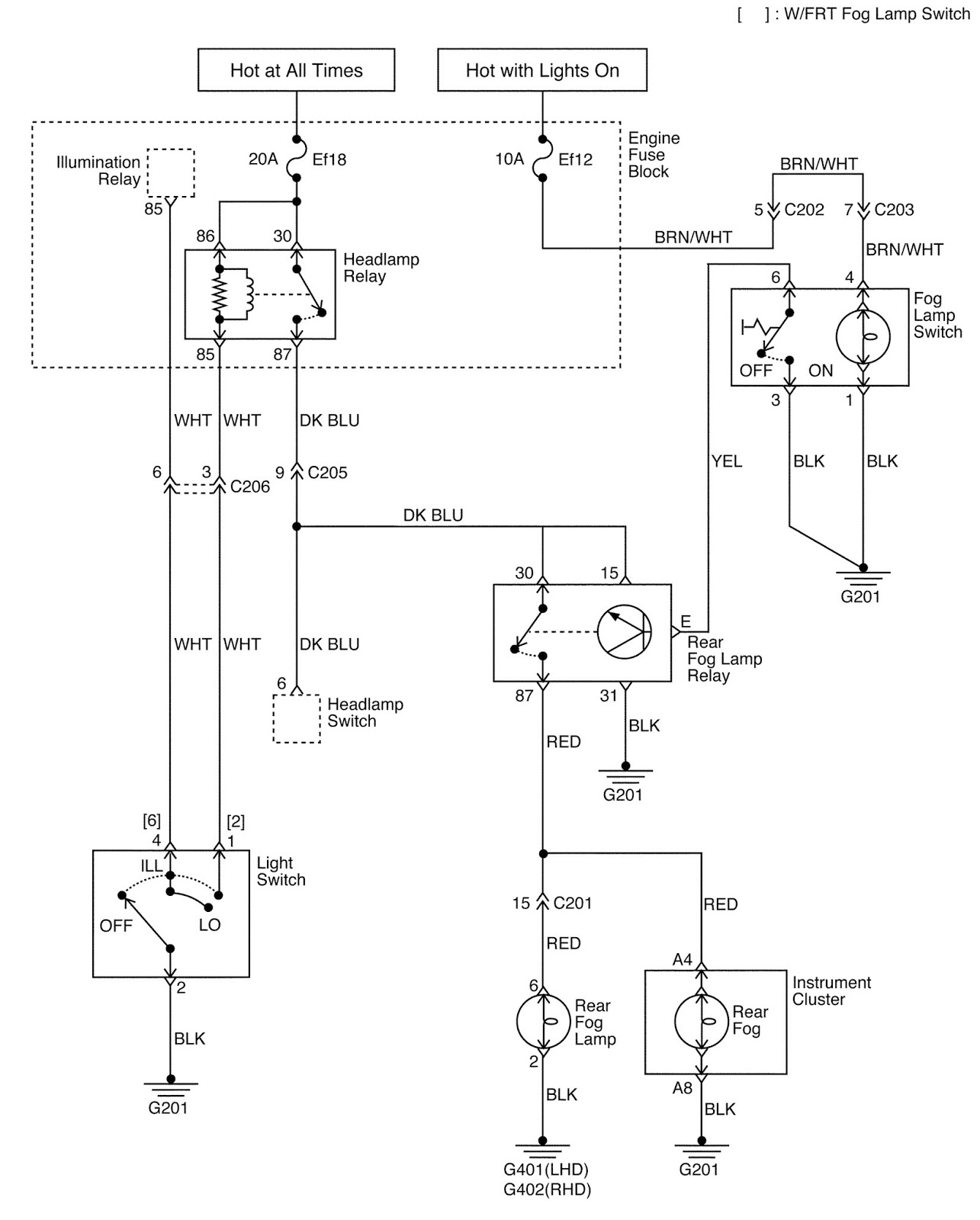 Daewoo matiz circuit diagram daewoo matiz car lighting systems schematic and routing
