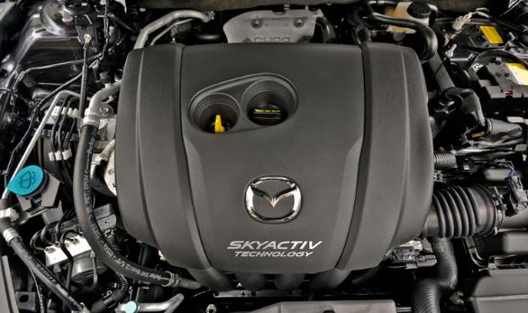 2017 Mazda 6 Sedan Engine