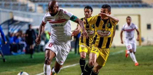 الزمالك يهزم المقاولون العربي بثلاثية نظيفة في الدوري العام المصري