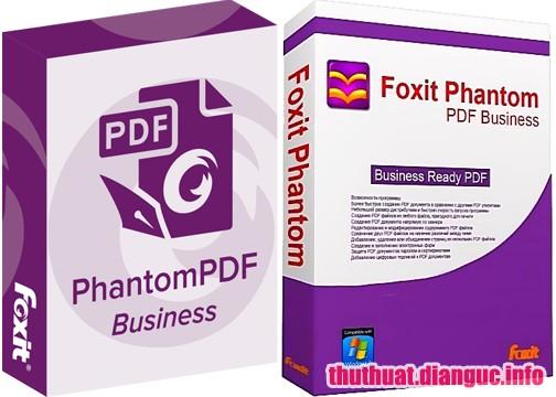 Foxit PhantomPDF Business 9.3.0.10826 Full Cr@ck – Phần mềm tạo và chỉnh sửa file PDF tốt nhất