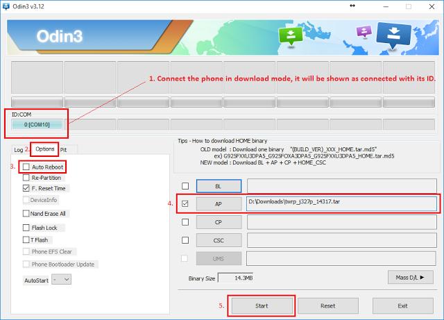 Cara Root dan Pasang TWRP Di Samsung Galaxy A7 A700FD
