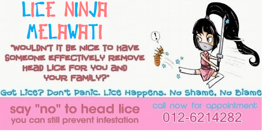 Call Lice Ninja Melawati Now for an Appointment!