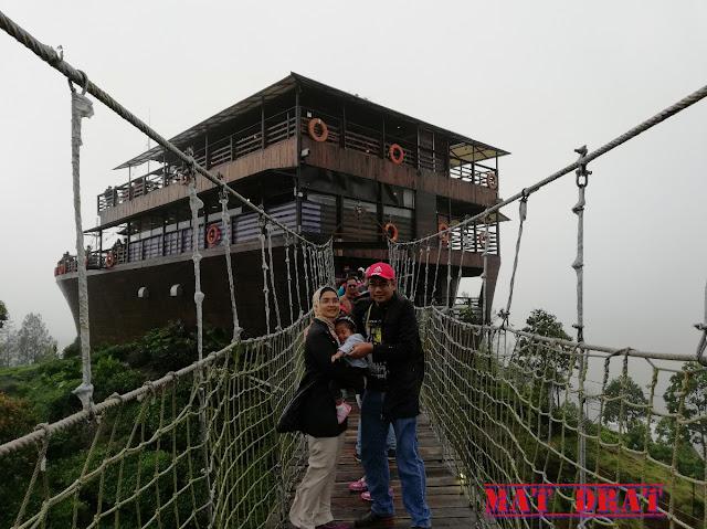 Percutian Melancong Tempat Menarik di Bandung Glamping lakeside Rancabali Ciwidey