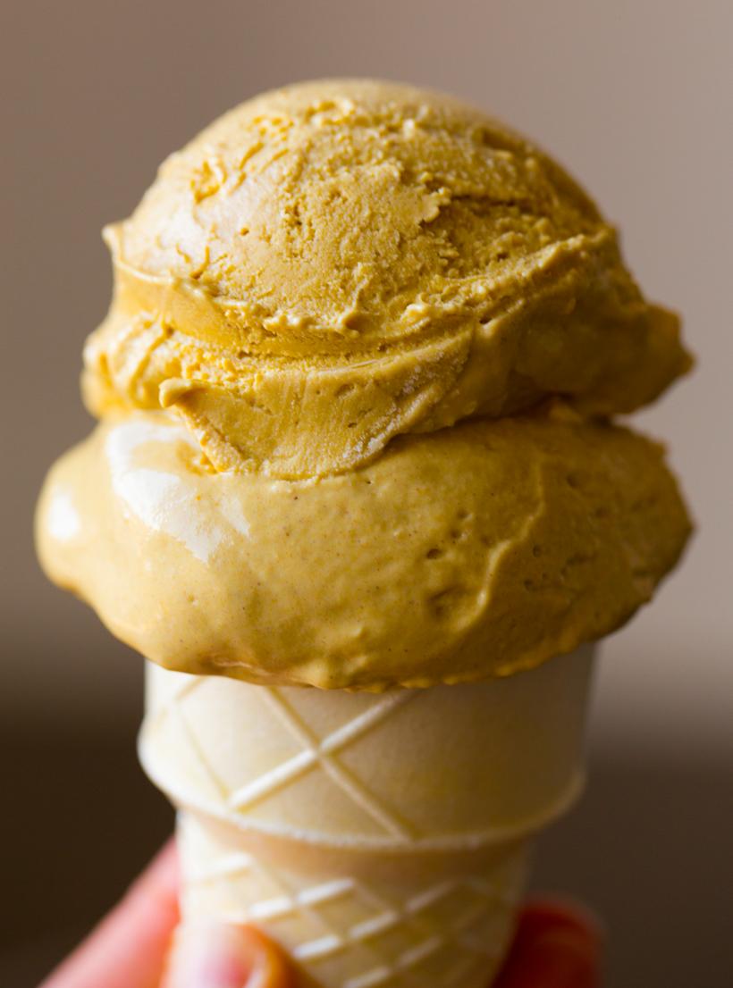 Vegan Pumpkin Ice Cream