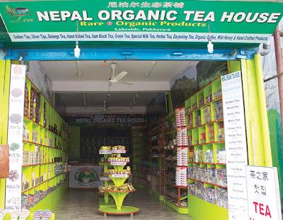 Nepal's organic tea
