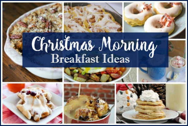 Christmas Morning Breakfast Ideas - Delicious Dishes Party 48 featured on Walking on Sunshine.