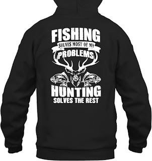 3a4243929 https://www,amazon,com/Fishing-My-Problems-Hunting-T-Shirt/dp/B071WTWSM6  Buy Fishing Solves Most My Problems Hunting Solves Rest T-Shirt: ...