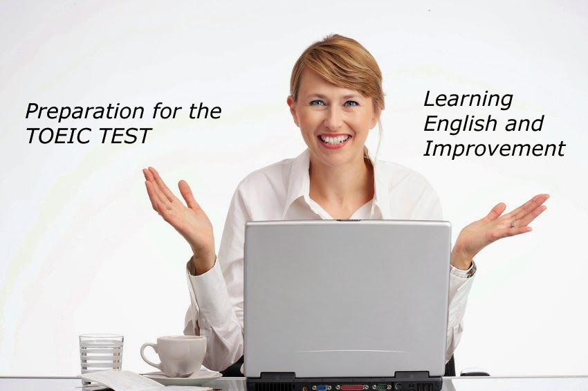 TOEIC test preparation for the Listening and Reading plus speaking and writing TOEIC tests