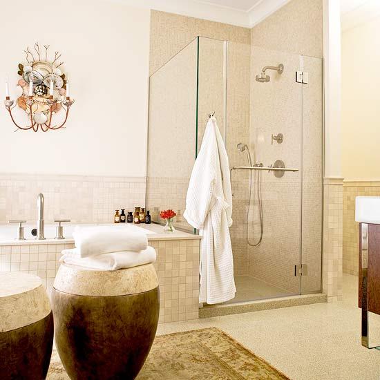 New Home Interior Design Neutral Color Bathroom Design Ideas
