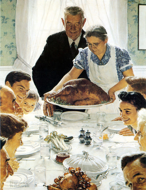 Image result for bountiful norman rockwell