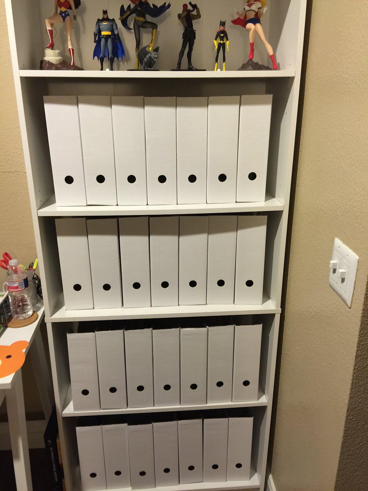 Easy Crafting with Kayla: Creative Comic Book Storage