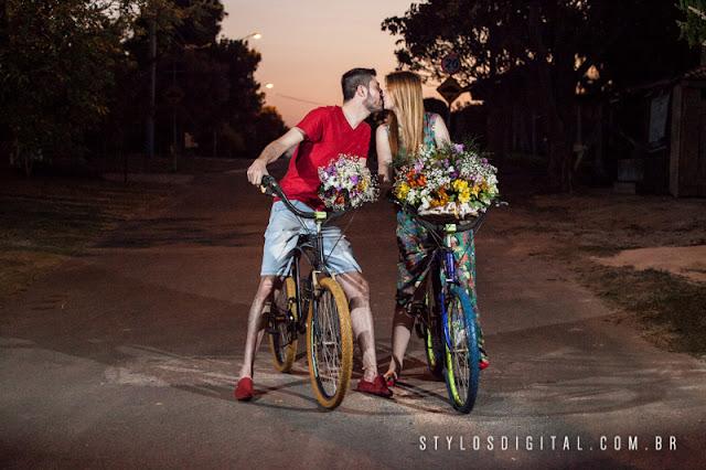 ensaio pre casamento ciclista