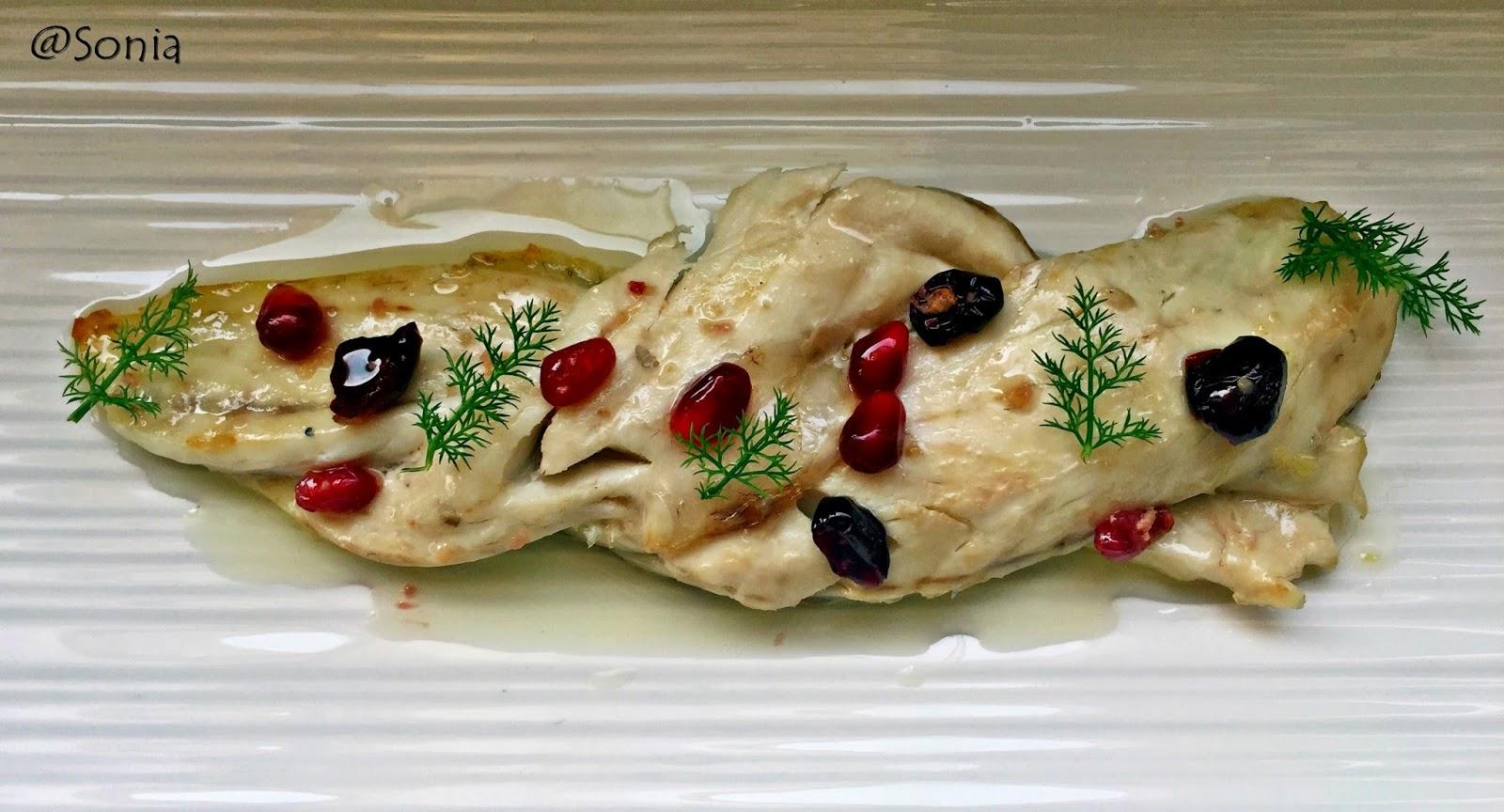 In cucina con sonia intreccio di filetto di branzino al for Cucinare branzino 5 kg