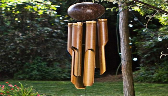 Membuat Lonceng Angin Dari Bambu