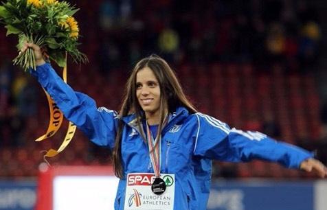 Κατερίνα Στεφανίδη, Ρεκόρ 1