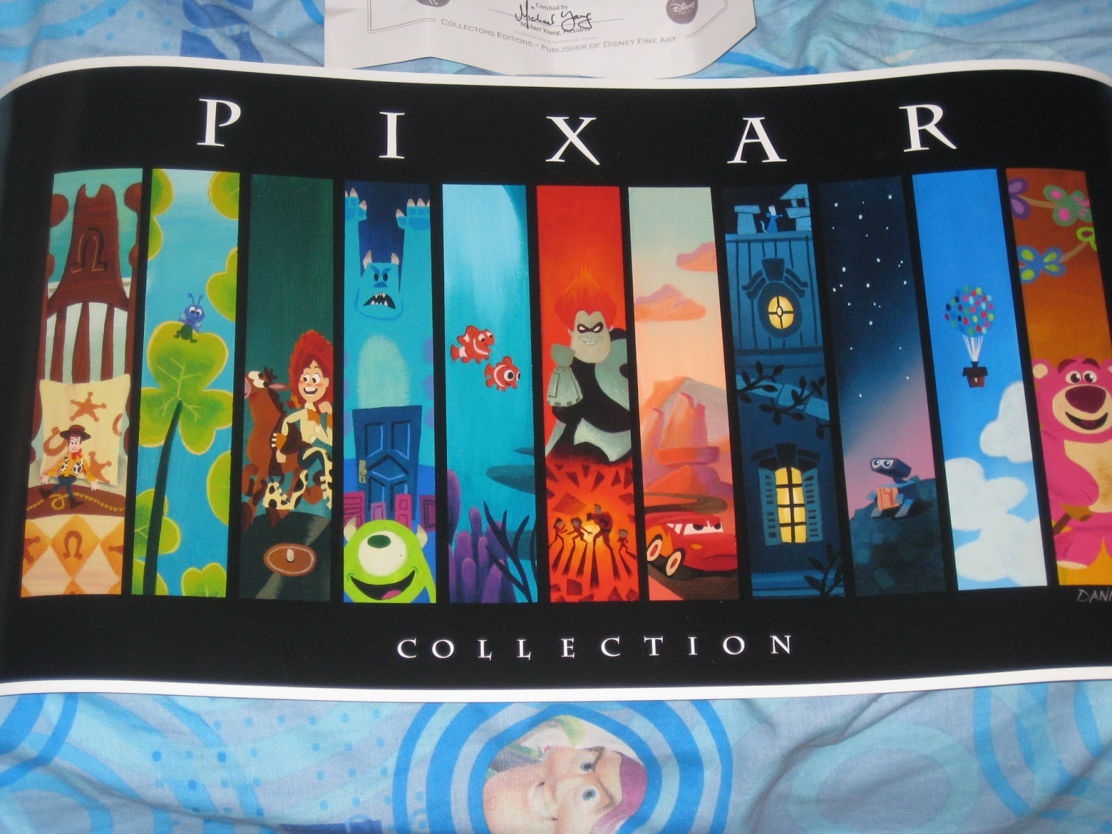 """The Pixar Storyline"" Art Piece print by Daniel Arriaga"