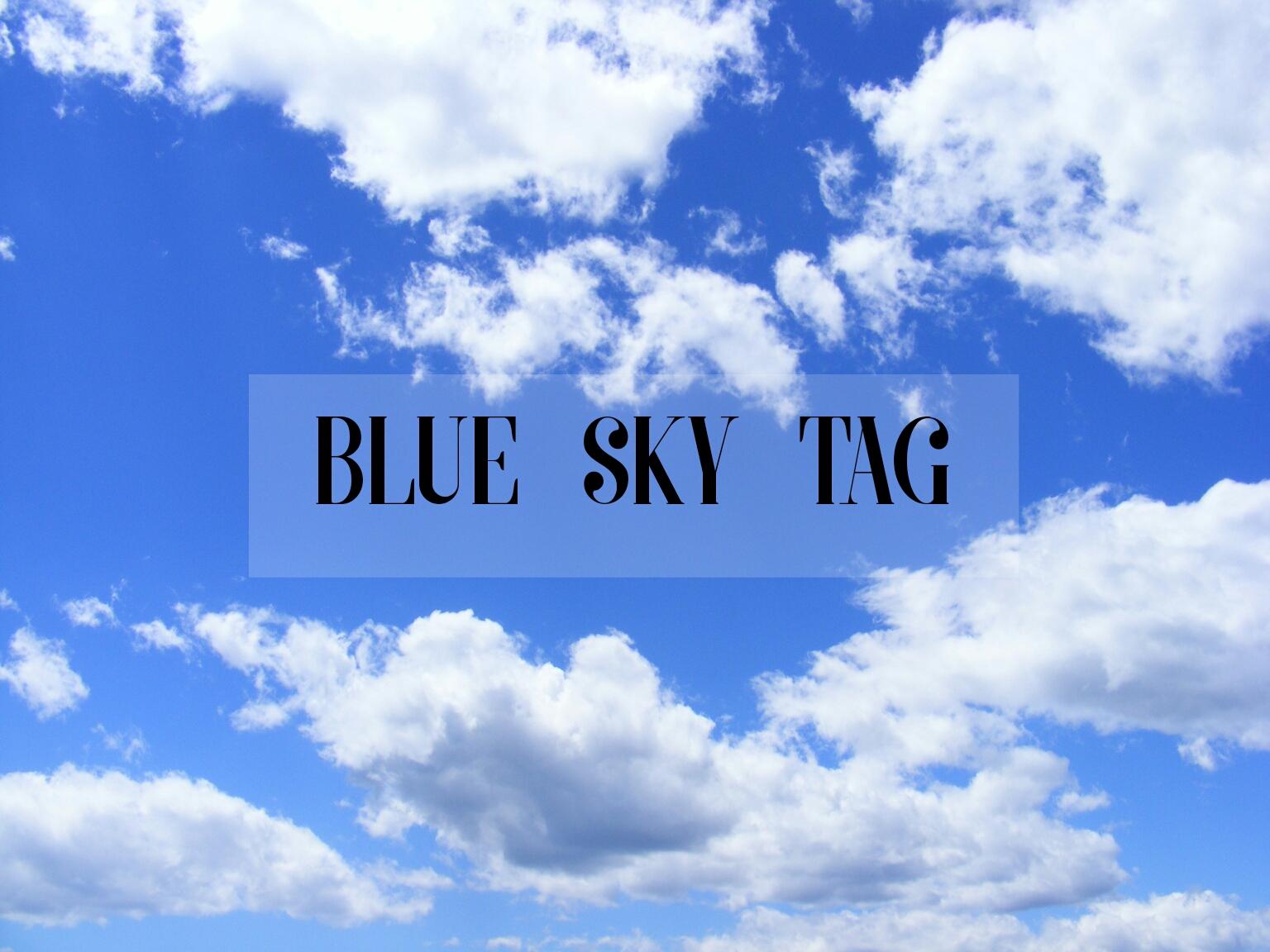 Blue Sky Tag | Lenne Zulkiflly