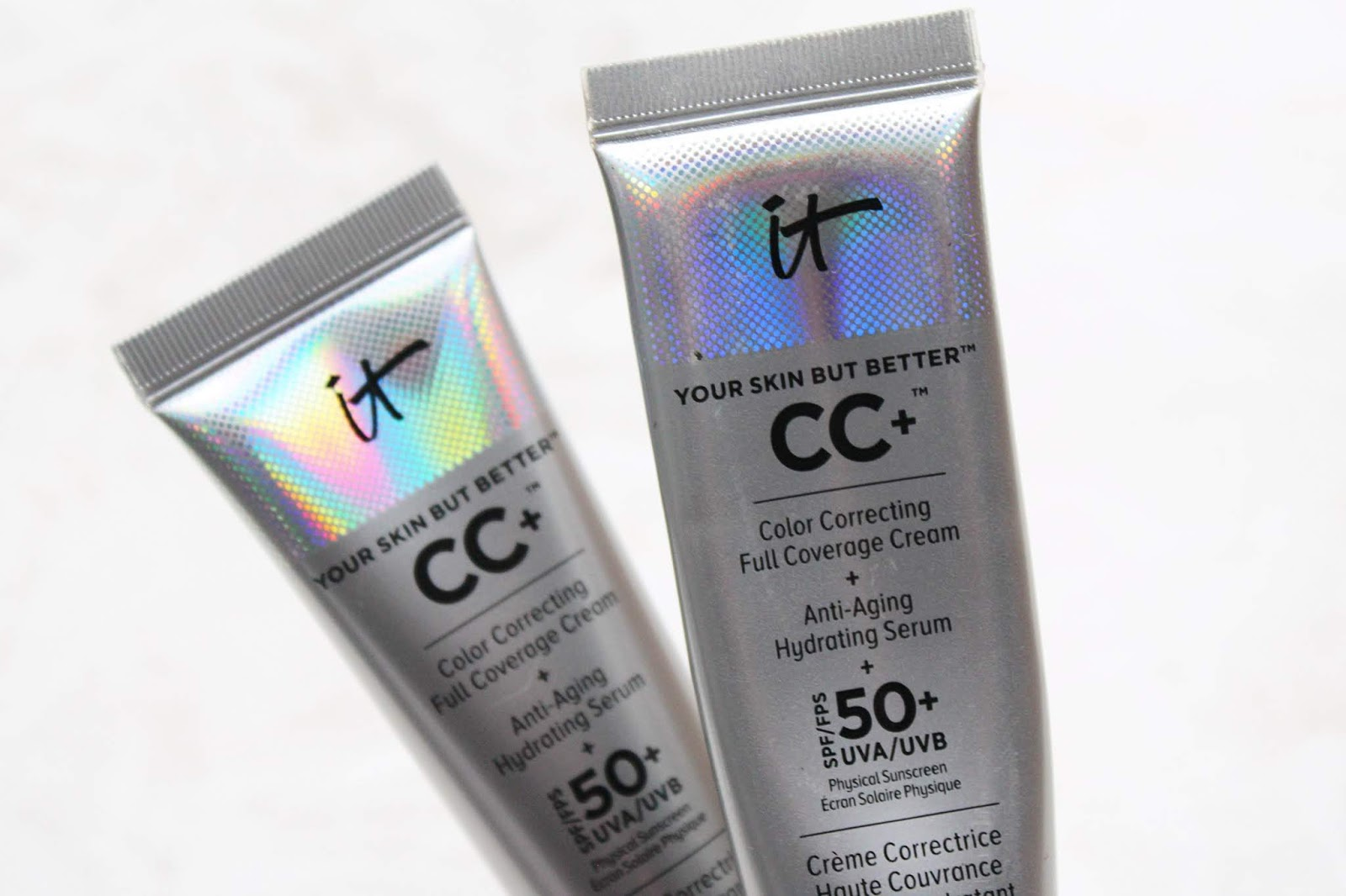 IT Cosmetics CC+ Cream Review