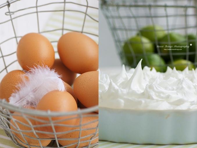 Key Lime Pie Zutaten Eier Limetten