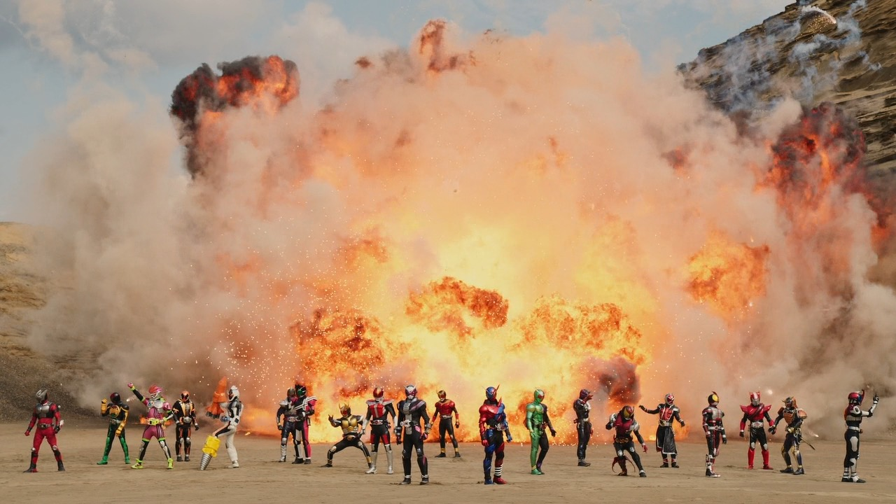 My Shiny Toy Robots: Movie REVIEW: Kamen Rider Heisei
