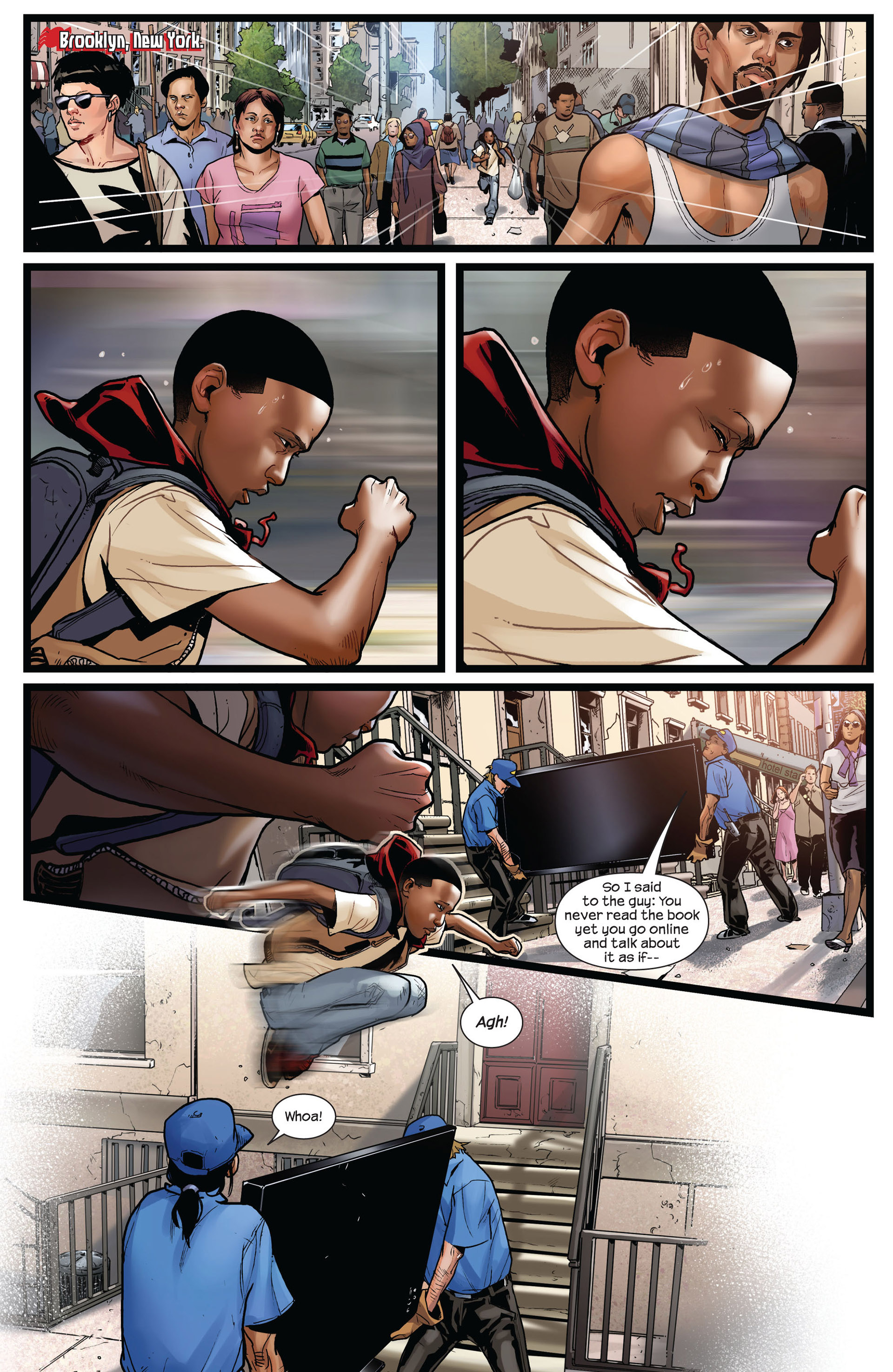 Read online Ultimate Comics Spider-Man (2011) comic -  Issue #2 - 3