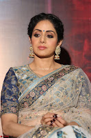Sri Devi in designer saree stunning beauty at the launch of MOM movie Trailer~  Exclusive 107.JPG
