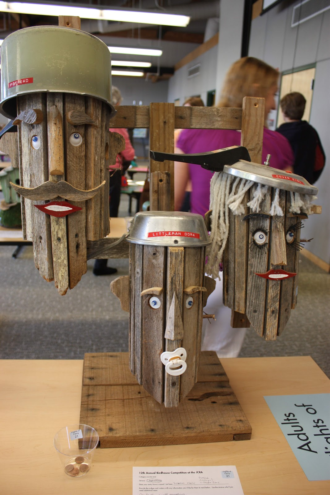 The Red Chair Blog Unique Diy Birdhouses On Display