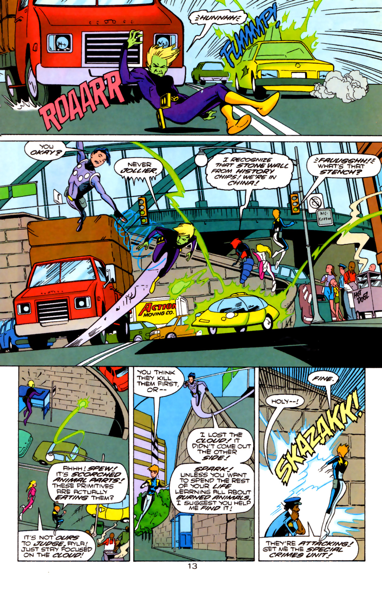 Legion of Super-Heroes (1989) 85 Page 12