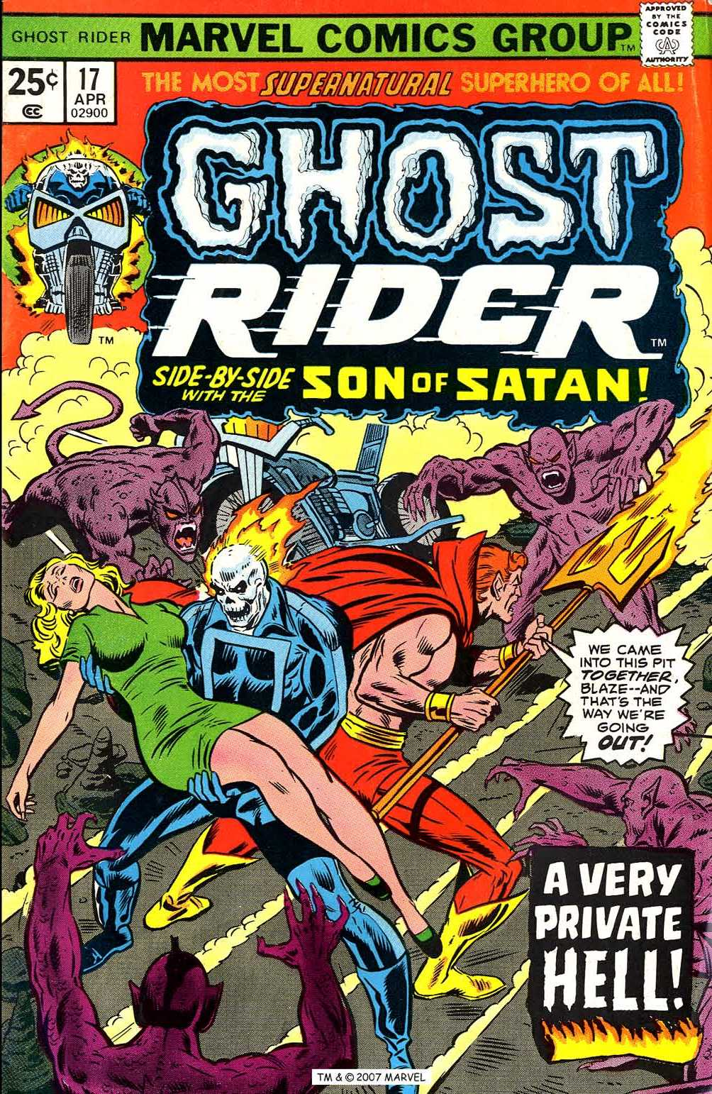 Ghost Rider (1973) Issue #17 #17 - English 1