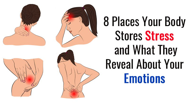8 Places Where Your Body Stores Stress And What It Says About Your Emotions