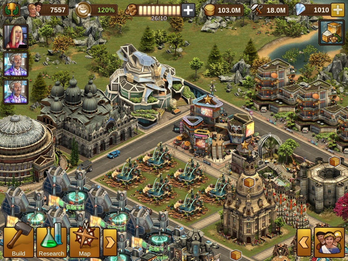 Forge of Empires v1.104.1 Latest Update Online Games 77 MB Mod Apk For Android | Download BBM ...