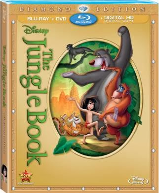 Jungle Book Blu-ray and DVD