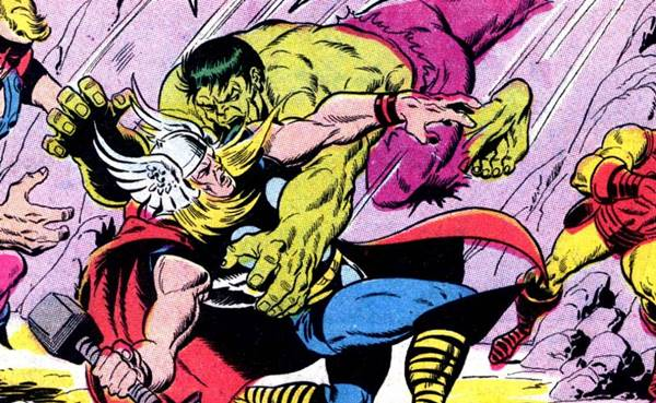 Hulk vs Thor, Siapa Lebih Kuat?