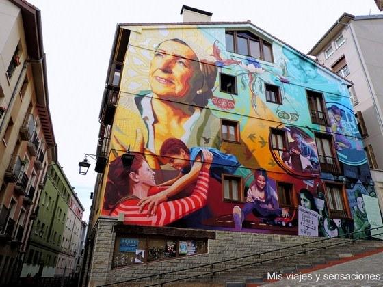 La luz de la esperanza, murales de Vitoria, País Vasco