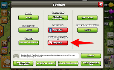 Cara bermain 2 game clash of clans di Hp android yang sama.