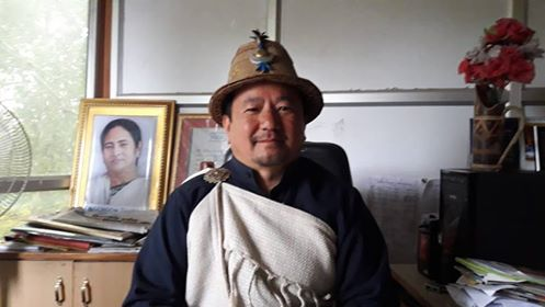 ILTA president Dorjee Lepcha