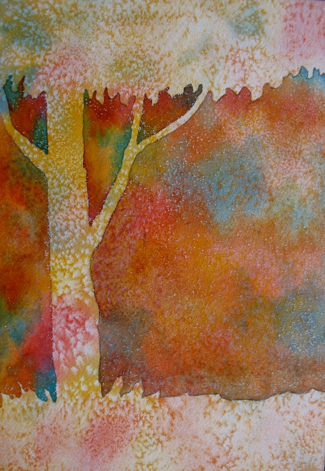 The Painted Prism: WATERCOLOR WORKSHOP: Negative Painting ...