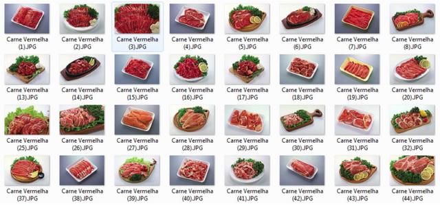 Imagens de Alimentos Carnes