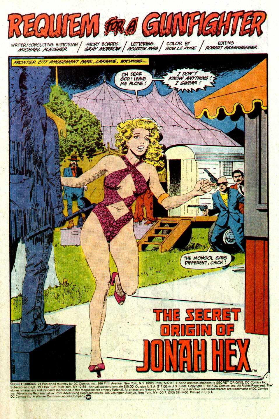 Read online Secret Origins (1986) comic -  Issue #21 - 2