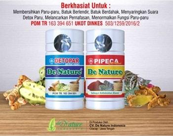 Obat Batuk Herbal de Nature