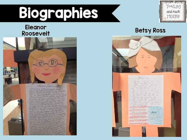 Biography unit, craft and report