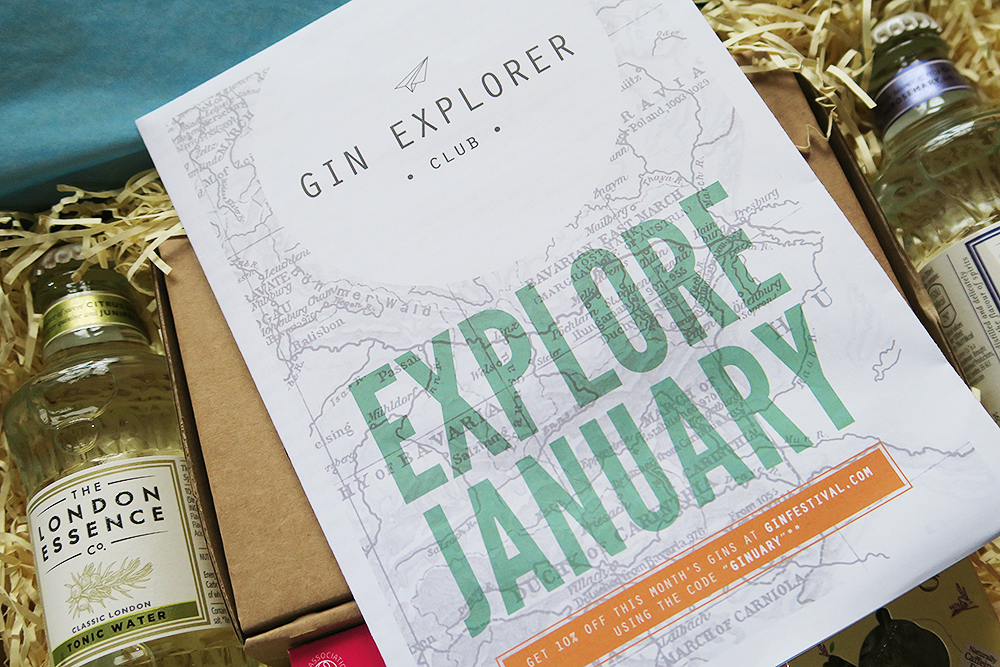 The Gin Explorer Club Pamphlet