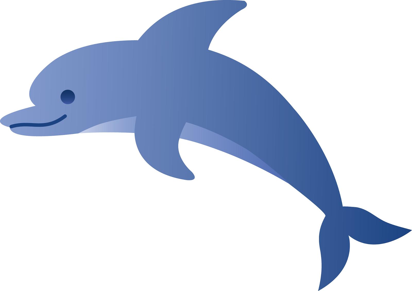 Dibujos Infantiles De Delfines A Color: RECURSOS Y ACTIVIDADES PARA