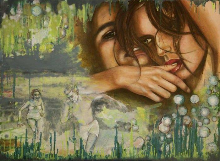 Лица людей и эмоции. Mirja Gastaldi