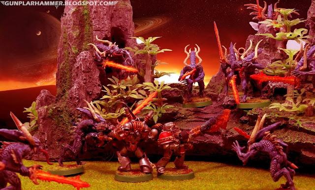 Bloodletters VS Grey Knights Warhammer 40k