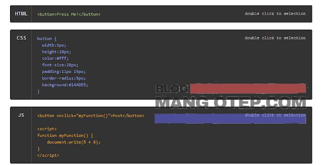 Cara Membuat dan Memasang Pre Code Keren