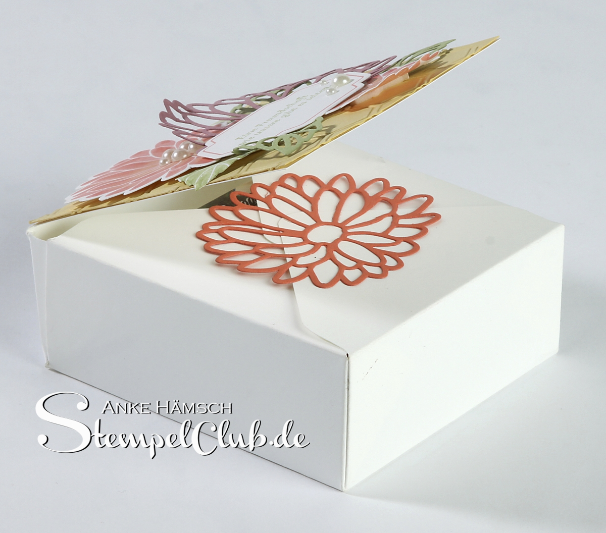 Besondere Grüße, eine Verpackung für Seife mit dem Envelope Punchboard